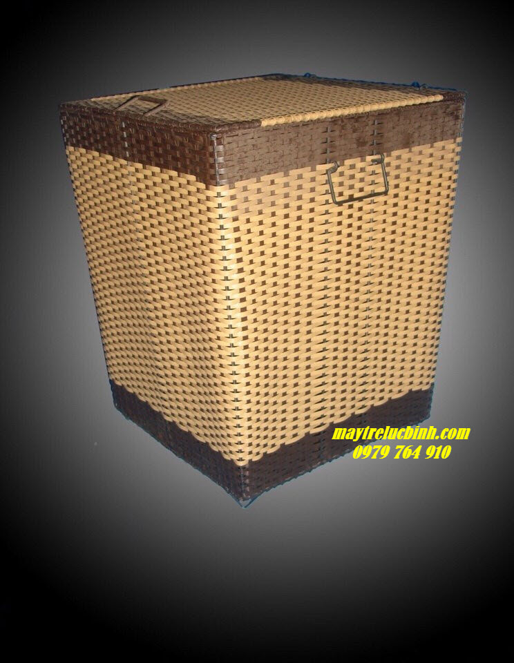 Wicker laundry basket KV88