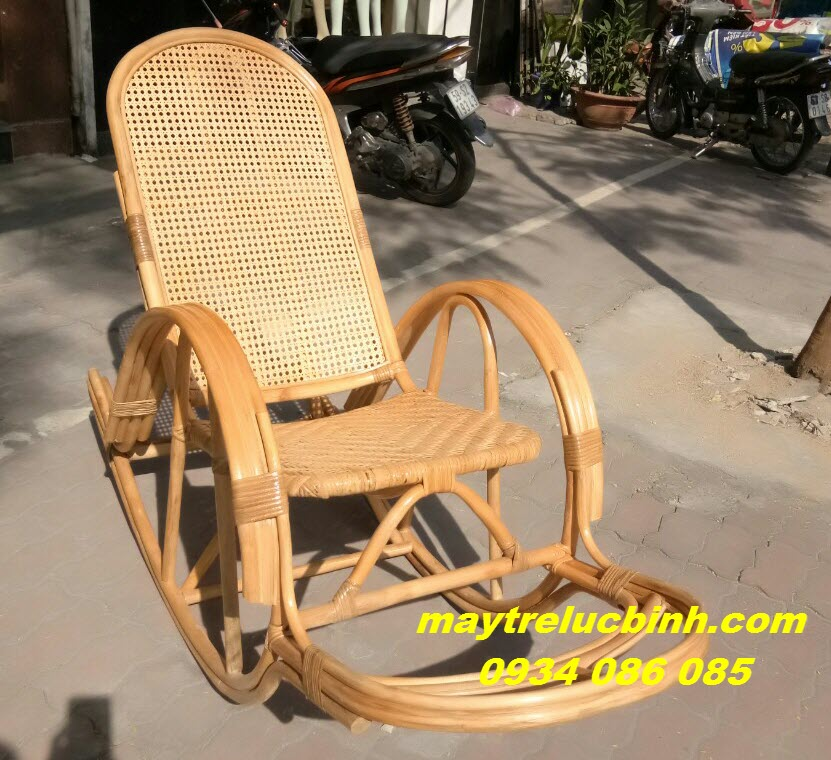 Rattan rocking chair BV824