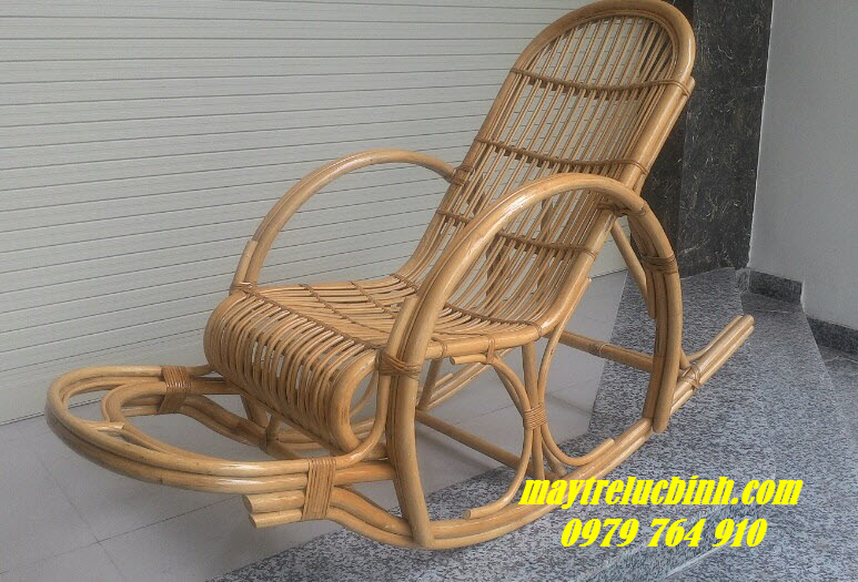 Rattan rocking chair BV831