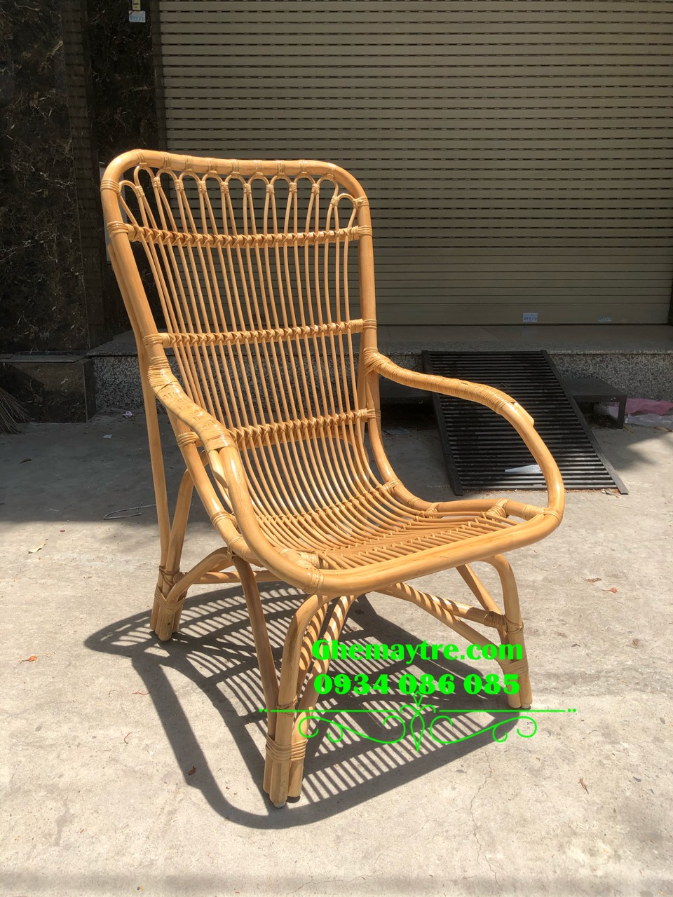 relaxing rattan chair BV860
